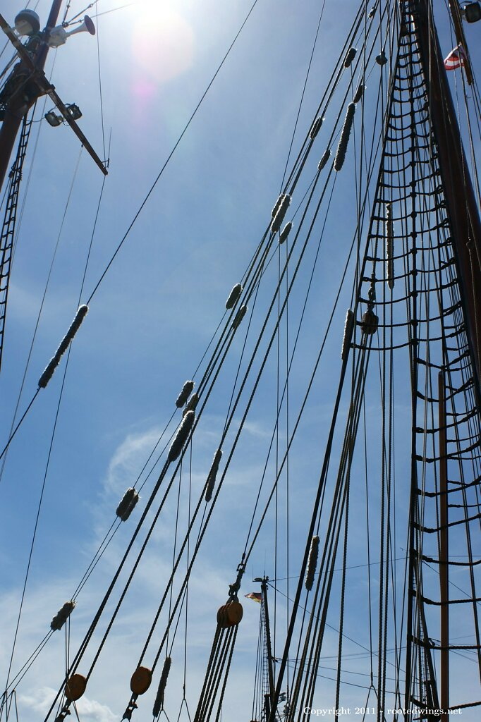 setting sail. by sas